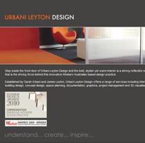 Urbani Leyton Design